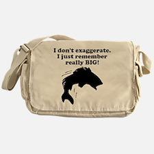 Remember Really BIG Messenger Bag