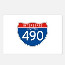 Interstate 490 - NY Postcards (Package of 8)