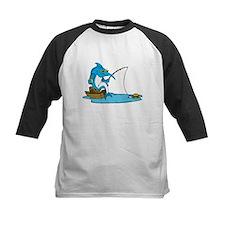 Marlin Fishing For Hamburger Baseball Jersey