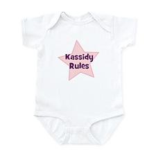 Kassidy Rules Infant Bodysuit