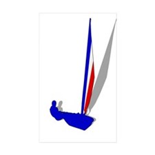French Sailing Decal