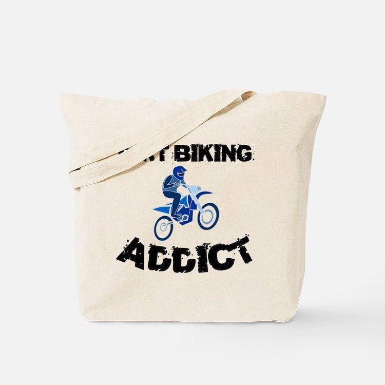 Dirt Biking Addict Tote Bag