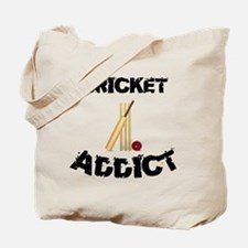 Cricket Addict Tote Bag