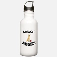 Cricket Addict Water Bottle