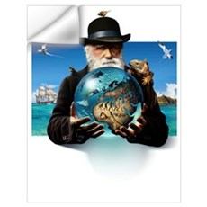 Charles Darwin, British naturalist Wall Decal