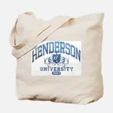 Henderson last name University Class of 2013 Tote