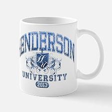 Henderson last name University Class of 2013 Mug
