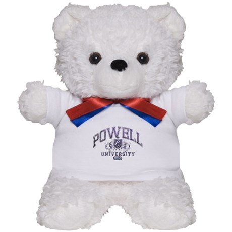 Powell Last Name University Class of 2013 Teddy Be