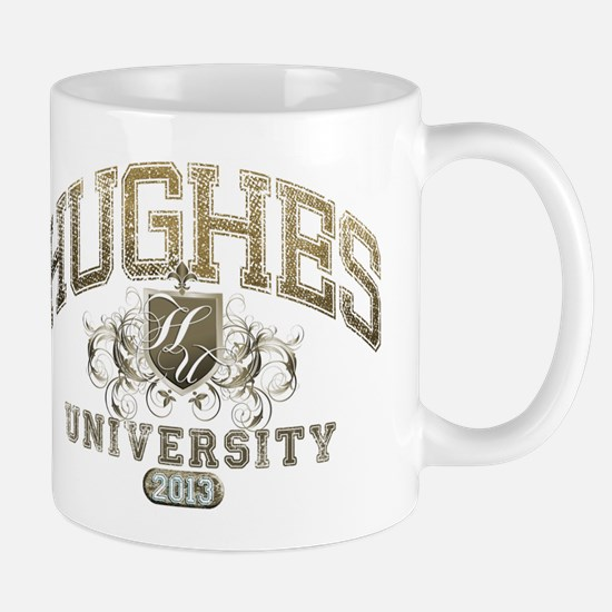 Hughes Last name University Class of 2013 Mug