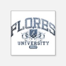 Flores last name University Class of 2013 Sticker