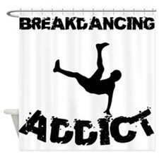 Breakdancing Addict Shower Curtain