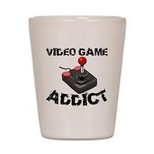 Video Game Addict Shot Glass