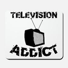 Television Addict Mousepad