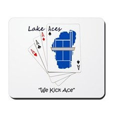Lake Aces with Tag Line Mousepad