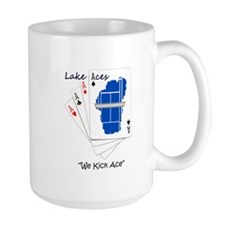 Lake Aces with Tag Line Mug