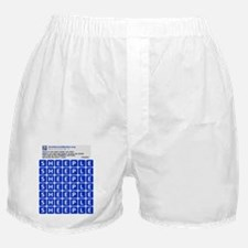 Anti Social Media Word Find Boxer Shorts