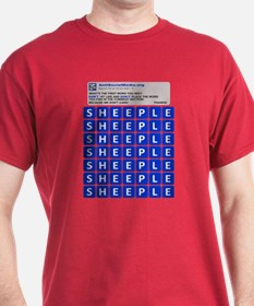 Anti Social Media Word Find T-Shirt