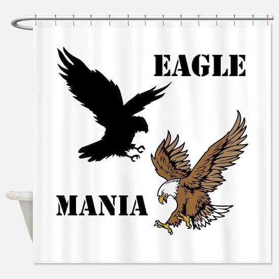 Eagle Mania Shower Curtain