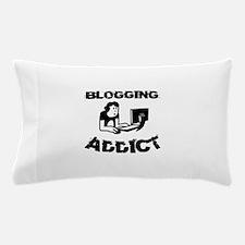 Blogging Addict Pillow Case