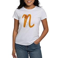 Letter N Monogram Tee