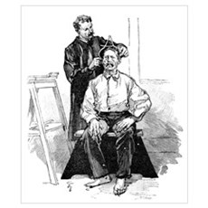 Anthropometry, 19th century Poster