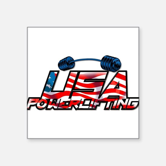 U.S. Powerlifting Rectangle Sticker