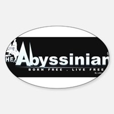 Cute Abyssinian Decal