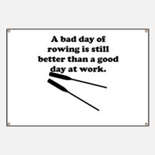 A Bad Day Of Rowing Banner