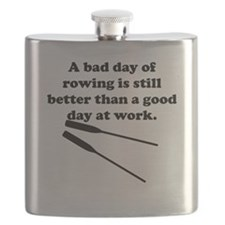 A Bad Day Of Rowing Flask
