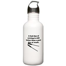A Bad Day Of Rowing Water Bottle