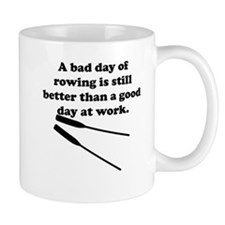 A Bad Day Of Rowing Mug