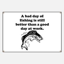 A Bad Day Of Fishing Banner