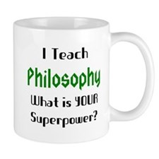 teach philosophy Small Mug