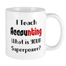 teach accounting Mug
