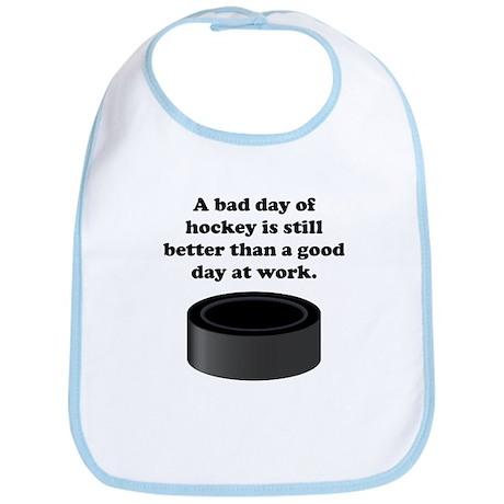 A Bad Day Of Hockey Bib