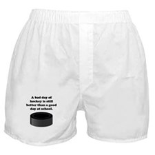 A Bad Day Of Hockey Boxer Shorts