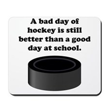 A Bad Day Of Hockey Mousepad