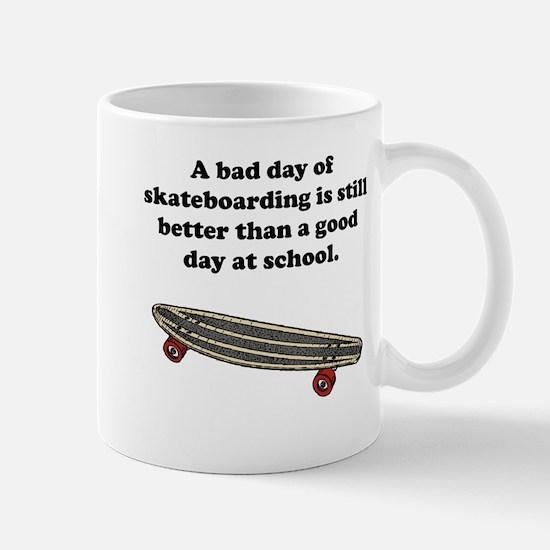 A Bad Day Of Skateboarding Mug