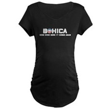 BOHICA - Obama has been reelected Maternity T-Shir