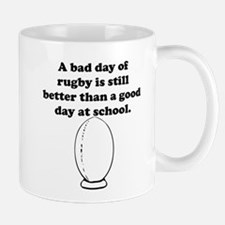 A Bad Day Of Rugby Mug