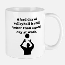 A Bad Day Of Volleyball Mug