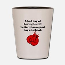 A Bad Day Of Boxing Shot Glass