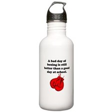 A Bad Day Of Boxing Water Bottle