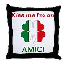 Amici Family Throw Pillow