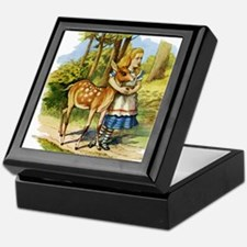 Alice and a Doe Keepsake Box