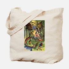 Beware the Jabberwocky Tote Bag