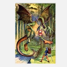 Beware the Jabberwocky Postcards (Package of 8)