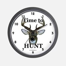 Funny Hunt Wall Clock