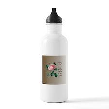 Rose Shakespeare Water Bottle