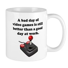 A Bad Day Of Video Games Mug